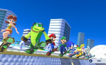Mario Sonic Olympics