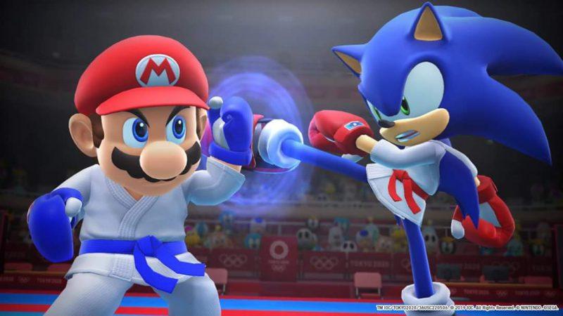 Mario Sonic Tokyo 2020