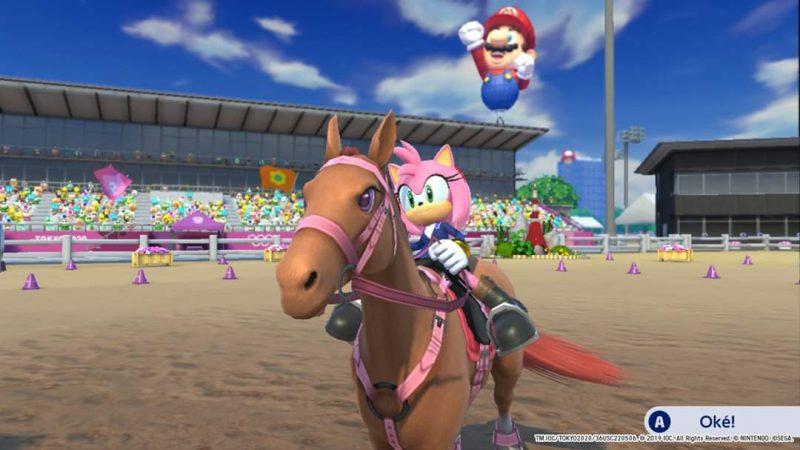 Mario Sonic Olympics Tokyo 2020