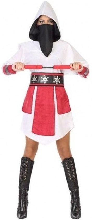 ninja pakje rood wit